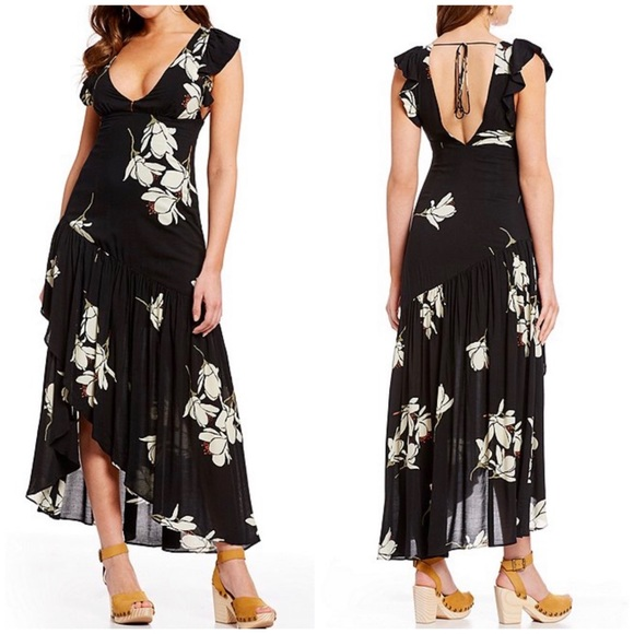 Free People Dresses & Skirts - Free People Waterfall Maxi Dress